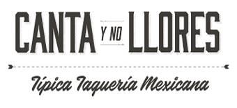 Logo, Taqueria Canta y No Llores 340x156