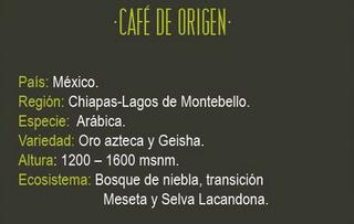 Descripcion café La Chiapaneca